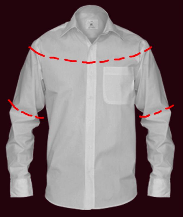 Мужскую рубашку легко перешить в очаровательную и кокетливую женскую блузочку! .