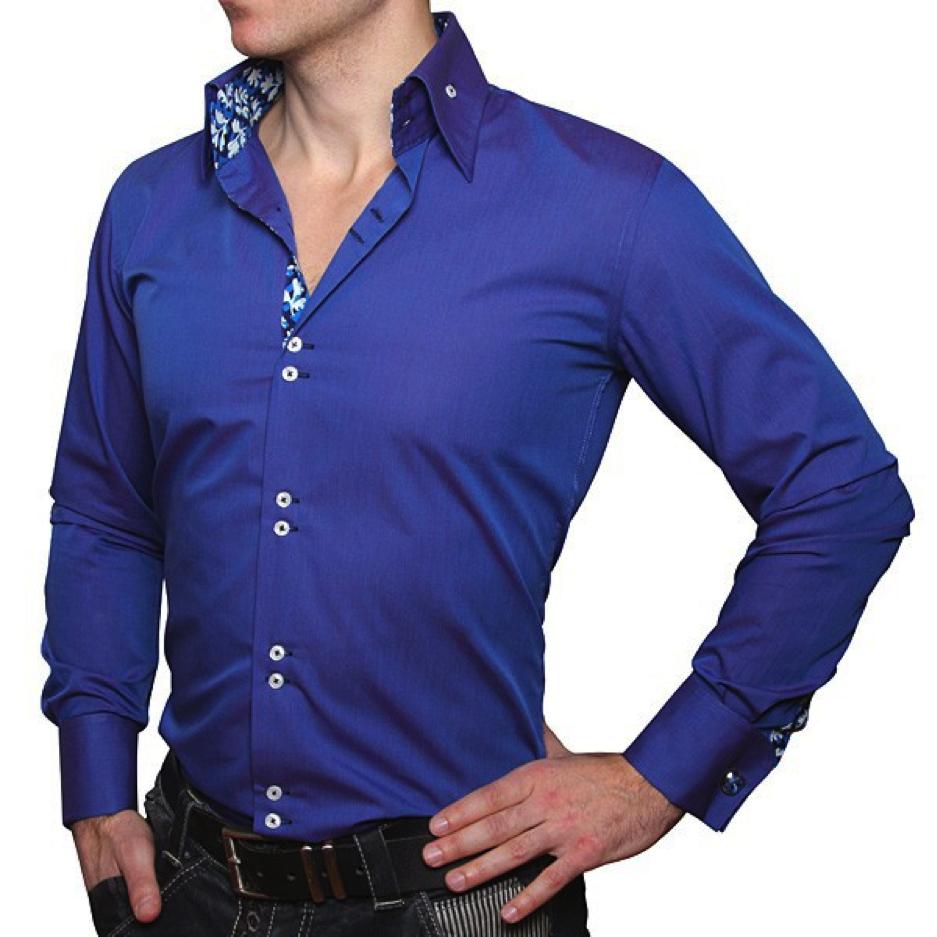 как одевать запонки на рубашку фото